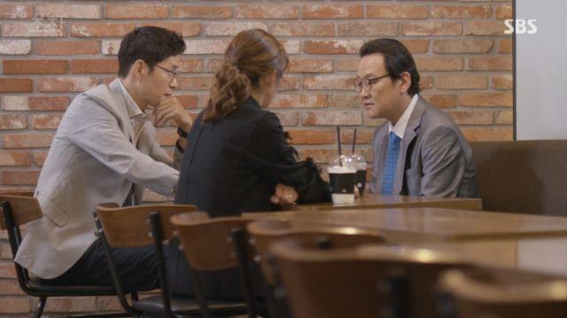 Seok-min and Yoo-kyeong meeting up with Seon-hong