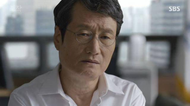 Tae-won hesitating over the elders' plans