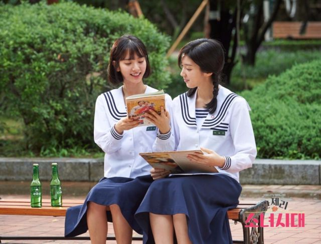 Jeong-hee and Hye-joo