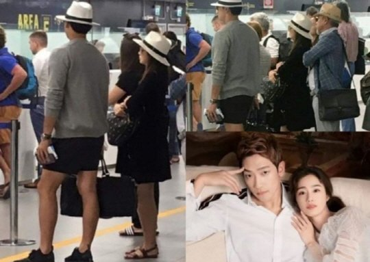 "Rain and Kim Tae-hee on their way to ""baby honeymoon"