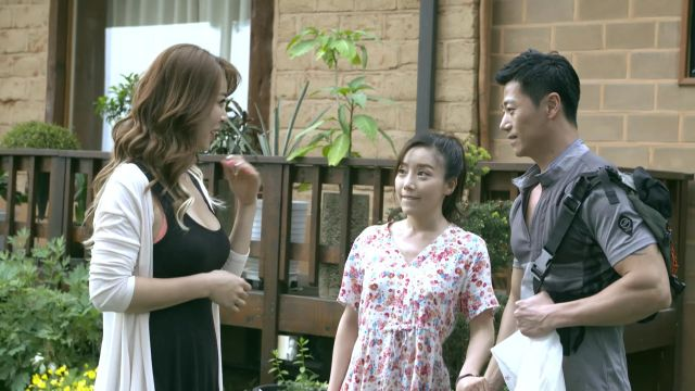 "[Photos + Video] Special service at a mountain cabin in ""An Affair – Two Sisters"""