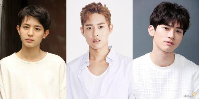 Rookie actors Han Kyu-won, Yoon Jeong-hyuk and Jung Yoo-ahn pave their way onto the small and silver screens