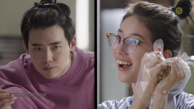 "[Video] Lee Jong-suk and Suzy show off their funny sides in newest teaser for ""While You Were Sleeping – 2017"""