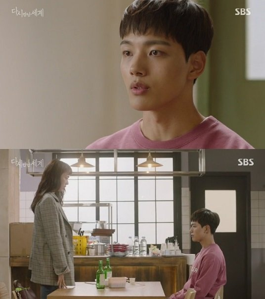"[Spoiler] ""Reunited Worlds"" Yeo Jin-goo tells Lee Yeon-hee to be with Ahn Jae-hyeon"