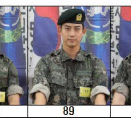 Taecyeon is a lean soldier