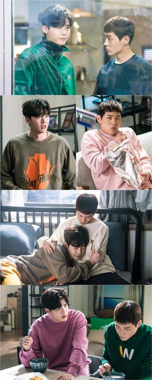 """While You Were Sleeping – 2017"" Lee Jong-suk and Shin Jae-ha, brothers"