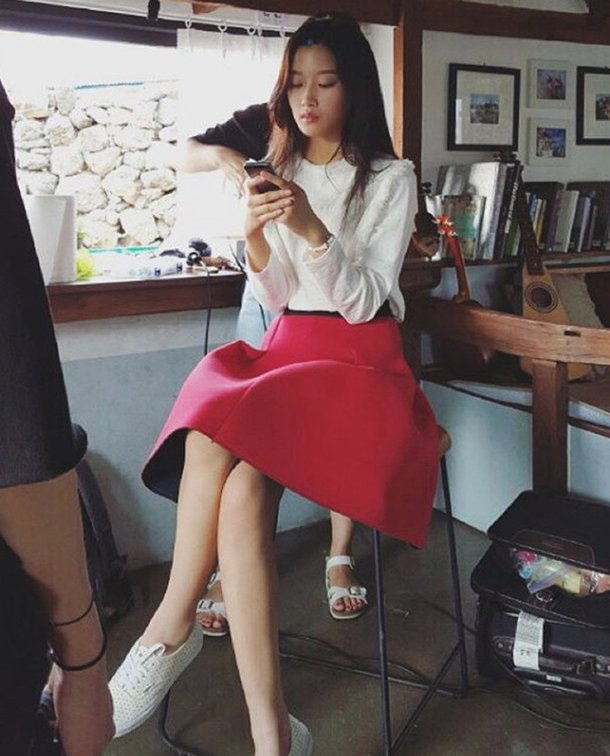 """Drama Special – Waltzing Alone"" Moon Ga-young's stunning legs"