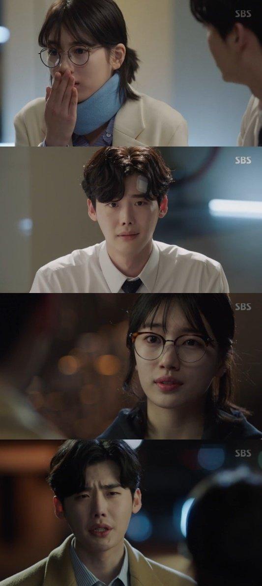 [Spoiler] Suzy helps Lee Jong-suk on