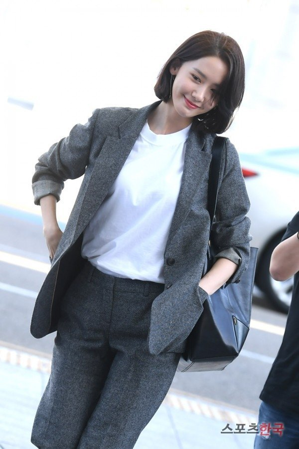 Celebrity Airport Fashion Yoona Snsd Airport Fashion September 2017