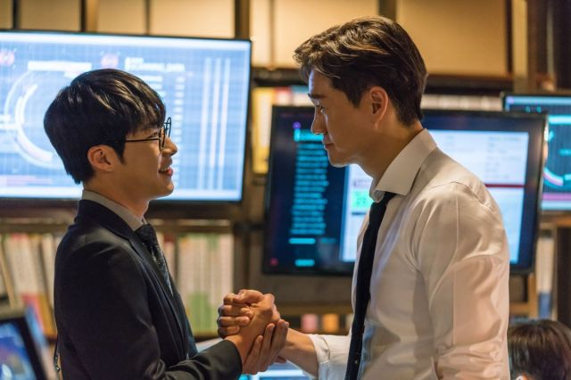 Min-jun and Kang-woo