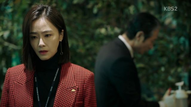 Hong-joo learns about her father's crime