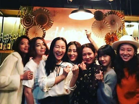 Lily S Take Top Actresses Attend Son Ye Jin S Birthday Party Hancinema The Korean Movie And Drama Database