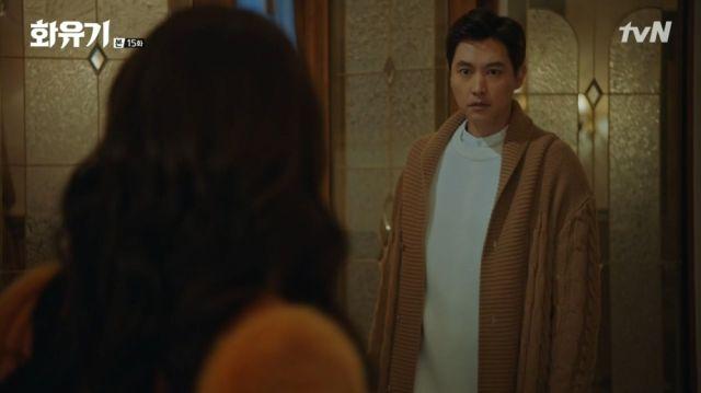 Dae-seong meeting his champion