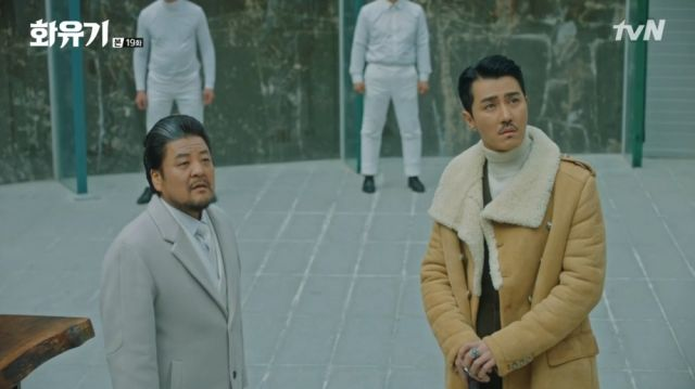 Master Soo Bo-ri and Ma-wang witnessing everything unfold