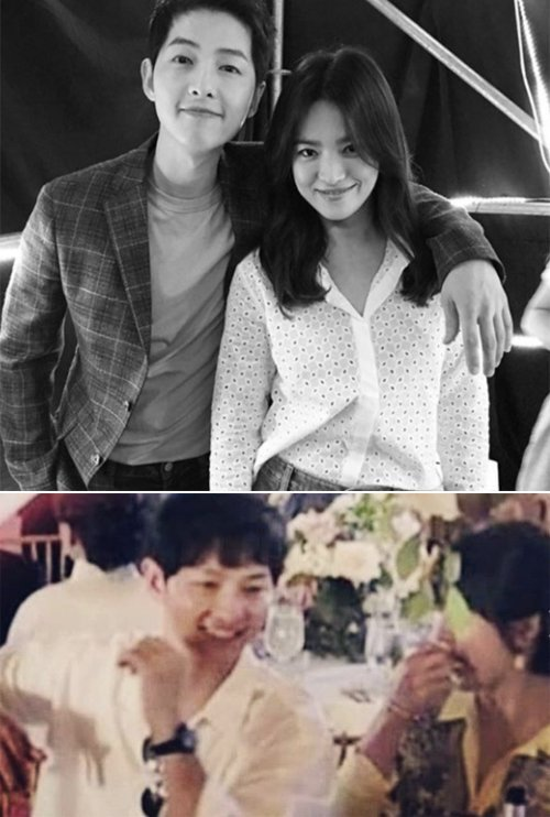 Song Joong Ki And Song Hye Kyo Attend Wedding In La