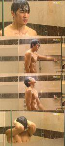 [Spoiler] Song Seung-heon, breath taking shower scene