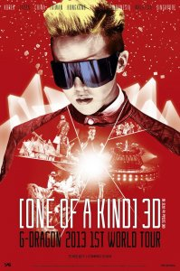 One of a Kind 3D: G Dragon 2013 1st World Tour